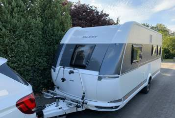 Hire a motorhome in Kleve from private owners  Hobby Sixpack deLuxe