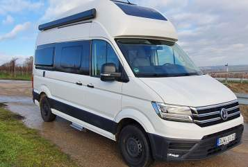 Hire a motorhome in Kirchheim an der Weinstraße from private owners| Volkswagen Grand Cali 600