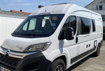 Hire a motorhome in Böblingen from private owners| Pössl  Pössl 2Win 2