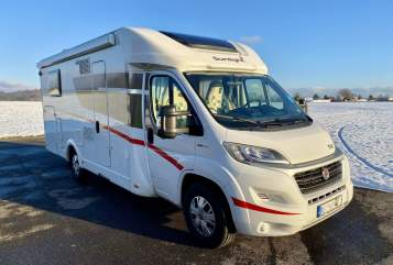 Hire a motorhome in Ilsfeld from private owners  Sunlight Storchennest