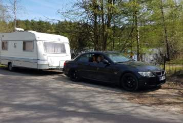 Hire a motorhome in Büttelborn from private owners| Knaus  TriTrain