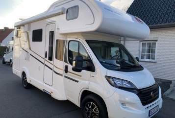 Hire a motorhome in Herzogenrath from private owners| Eura Mobil 4****Mobil