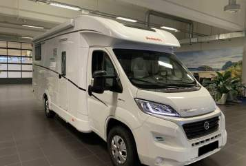 Hire a motorhome in Schöneck/Vogtl. from private owners| Dethleffs Trend T 7057 EB