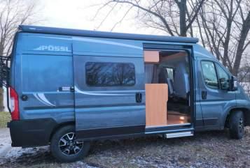 Hire a motorhome in Asbach-Bäumenheim from private owners| Pössl Pössl 2 Win R+