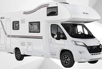 Hire a motorhome in Mettingen from private owners  PLA PLa 435