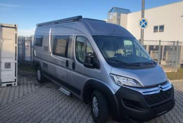 Hire a motorhome in München from private owners| Citroen Pössl Münchner Poldi