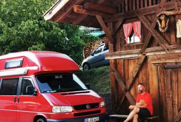 Hire a motorhome in Dresden from private owners  VW Berta