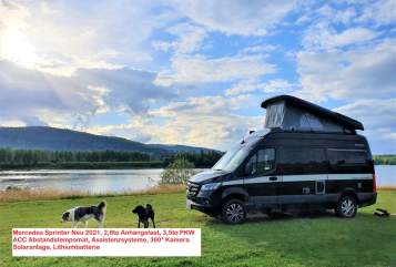 Hire a motorhome in Oberhausen from private owners  Hymer Mercedes Sprinter EdelGrandCanyon