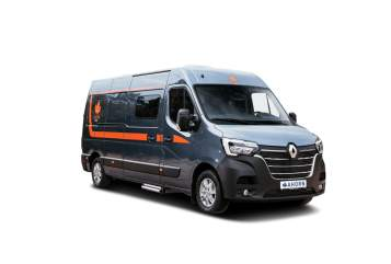 Hire a motorhome in Rodgau from private owners  Ahorn Camp Erna
