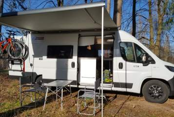 Hire a motorhome in Nürnberg from private owners| Challenger Vany V114 Fiat Ducato Jobu