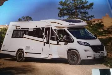 Hire a motorhome in Oberottmarshausen from private owners| Benimar Woodterminator2