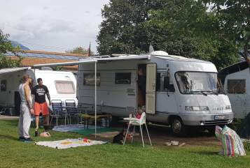 Hire a motorhome in Nürnberg from private owners| Hymer HARLEY