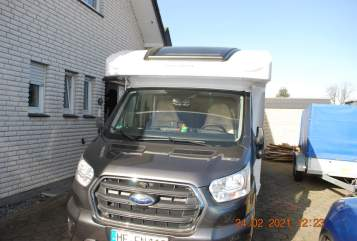 Hire a motorhome in Hiddenhausen from private owners| Ford Transit Grisu