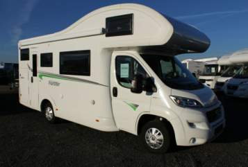 Hire a motorhome in Bergenhausen from private owners| Forster Gehaichnismobil