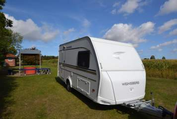 Hire a motorhome in Fehmarn from private owners  Weinsberg Samson......