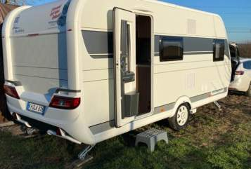 Hire a motorhome in Windesheim from private owners  Hobby Tante Emma