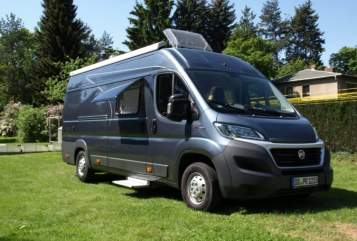 Hire a motorhome in Berlin from private owners  Pössl Der Egon