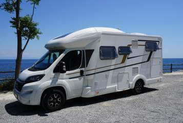 Hire a motorhome in Dortmund from private owners| Eura Mobil Bella Donna