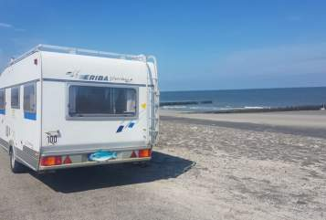 Hire a motorhome in Halle (Westfalen) from private owners| Hymer Eriba Der Hyggelige Hymer