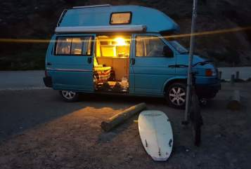 Hire a motorhome in Mannheim from private owners| Vw Blue Lagoon