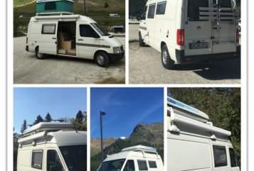 Hire a motorhome in Tübingen from private owners| Volkswagen Camper VW Camper LT35 (große Variante)