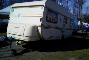 Hire a motorhome in Spiegelau from private owners| Tabbert  Tabbbert Comtesse 1300 kg 4 Schlafplätze