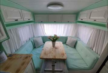 Hire a motorhome in Duisburg from private owners| Tabbert Vintagepofe