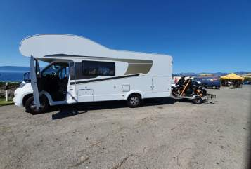Hire a motorhome in Grävenwiesbach from private owners| Fiat Carado  Hummel