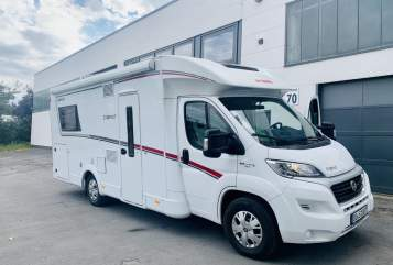 Hire a motorhome in Dortmund from private owners| Dethleffs Dethi für 4
