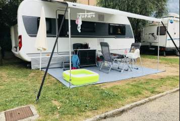 Hire a motorhome in Kirchberg from private owners| Hobby Hobby 540 KMFe