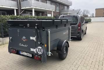 Hire a motorhome in Hamburg from private owners| Cultmobil Klappcaravan  Luigi
