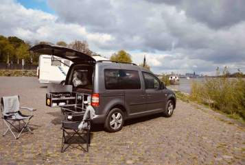 Hire a motorhome in Köln from private owners  VW Caddy
