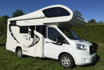 Hire a motorhome in Stäbelow from private owners| Chausson Ostsee-Perle