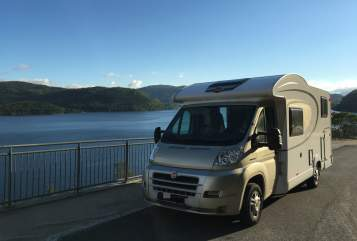 Hire a motorhome in Erfurt from private owners| Fiat Bürstner Weltenbummler