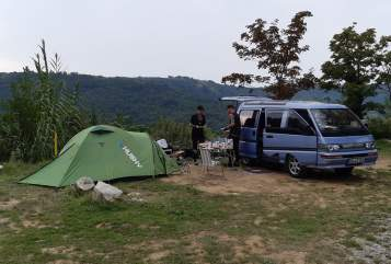 Hire a motorhome in Dresden from private owners| Mitsubishi Berni
