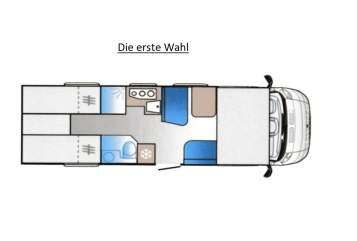 Hire a motorhome in Bönen from private owners  Sun Living Die erste Wahl