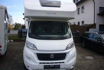 Hire a motorhome in Königsbrunn from private owners| Fiat Lillys Mobil