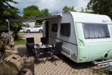 Hire a motorhome in Erfurt from private owners  Knaus Hugo