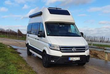 Hire a motorhome in Kirchheim an der Weinstraße from private owners| Volkswagen Grand Cali Bike