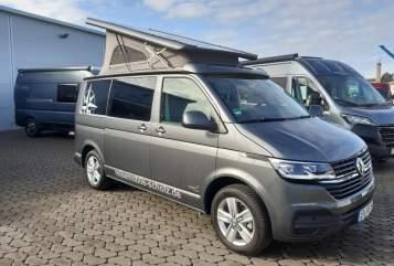 Hire a motorhome in Nürnberg from private owners| VW Bulli T6 *Hoppler 2*