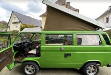 Hire a motorhome in Freiburg im Breisgau from private owners| VW Nostalgie-Bulli