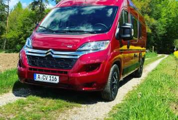 Hire a motorhome in Augsburg from private owners  Pössl  Wini