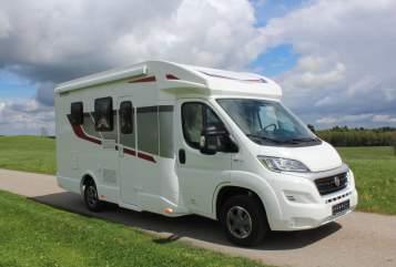 Hire a motorhome in Wiggensbach from private owners  Fiat Ducato Rimor 640