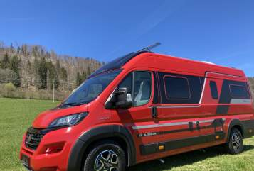 Hire a motorhome in Salzburg from private owners| ADRIA RentRed