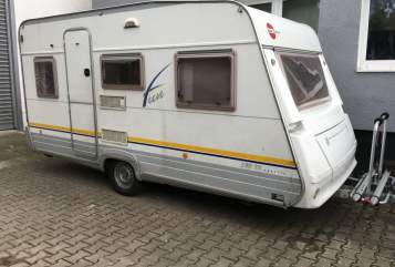 Hire a motorhome in Schriesheim from private owners| Bürstner Bürstner *New*