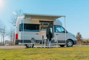 Hire a motorhome in Gelsenkirchen from private owners| Volkswagen Otter-Mobil #3