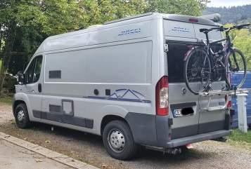Hire a motorhome in Freiburg im Breisgau from private owners| Pössl El Gordito
