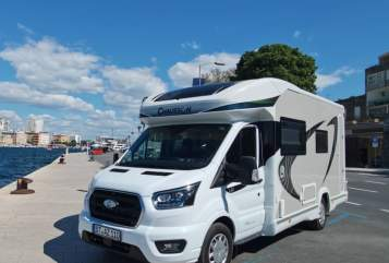 Hire a motorhome in Waischenfeld from private owners| Chausson WoMo