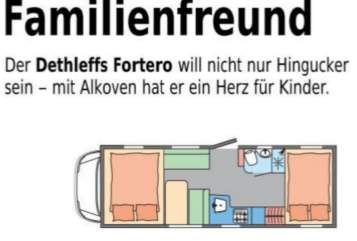 Hire a motorhome in Ahaus from private owners| Dethleffs Fortero