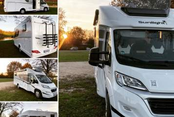 Hire a motorhome in Schwabach from private owners  Sunlight Sunny T67 2021